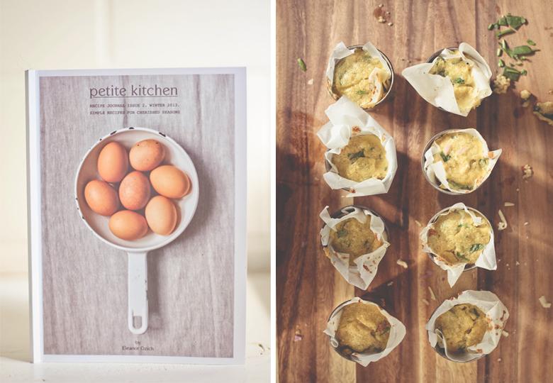 MAKE IT // Petite Kitchens Quinoa, Spinach U0026 Cheddar Cheese Cups