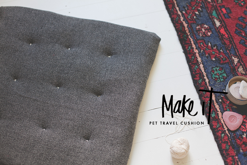 blackbird pet travel cushion