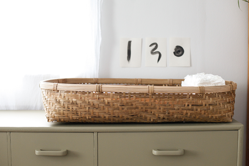 changing table basket